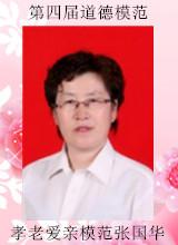 第四届道德模范敌阵:孝老爱亲模范张国华